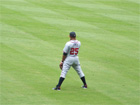 Andruw Jones in centerfield