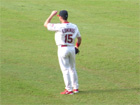 Jim Edmonds patrols center field