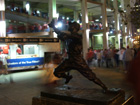Statue of St. Louis Browns legend George Sisler