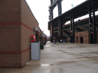 Upper concourse on first base side