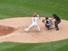 Pujols doubled to right center on the ensuing pitch