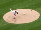 Chris Carpenter was money but he got no help from his defense on this day