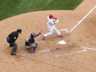 Yadier Molina gets a clutch hit to tie the game 3-3