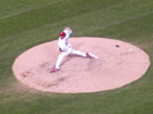 Wainwright pitches