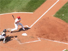 Albert Pujols eyes his 3rd home run