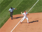 Scott Rolen makes a nice play in the 9th