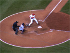 Scott Rolen provided an insurance run singling in Eckstein in the 7th