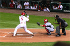 Pujols swings