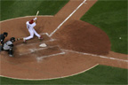 Albert Pujols goes the other way and drives in 2 runs