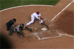 Albert Pujols did not have a good game at the plate