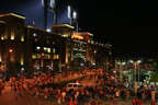 Outside Busch Stadium