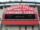 Wrigley Field Home of the Chicago Cubs. Pirates 4 Cubs 3